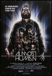 2r048 ALMOST HUMAN 1sh 2013 cool horror artwork by The Dude Designs!