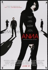2r054 ANNA advance DS 1sh 2019 directed by Luc Besson, sexy Sasha Luss in the title role!