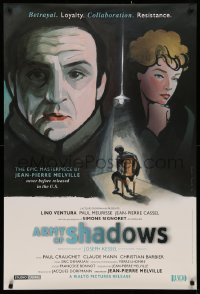 2r069 ARMY OF SHADOWS 1sh 2006 Jean-Pierre Melville's L'Armee des ombres, Kimura artwork!