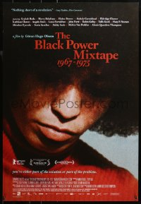 2r130 BLACK POWER MIXTAPE 1967-1975 1sh 2011 you're part of the solution or part of the problem!