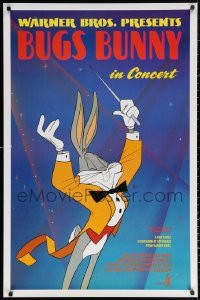 2r161 BUGS BUNNY IN CONCERT 1sh 1990 great cartoon image of Bugs conducting orchestra!