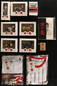 2s007 LOT OF 11 ISLE OF DOGS MOVIE PROMO ITEMS 2018 Wes Anderson, wonderful figurines & more!