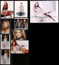 2s026 LOT OF 9 TAMMIN SURSOK COLOR PHOTOS 2010s the sexy South African singer/actress!