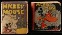2s015 LOT OF 1 MICKEY MOUSE BIG LITTLE BOOK & 1 BETTER LITTLE BOOK 1930s-1940s Mail Pilot & more!