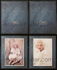2s023 LOT OF 2 MARILYN MONROE 8X10 BOOK PAGES 2003 both are nicely matted & ready to display!