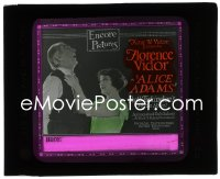 2t214 ALICE ADAMS glass slide 1923 Florence Vidor in Booth Tarkington's prize novel, ultra rare!