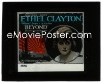 2t226 BEYOND glass slide 1921 Ethel Clayton's mom's ghost helps her watch over her brother, rare!