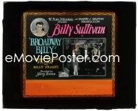 2t239 BROADWAY BILLY glass slide 1926 boxer Billy Sullivan in tuxedo between two ladies, rare!