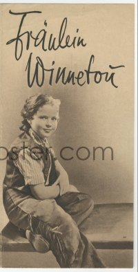 2t041 SUSANNAH OF THE MOUNTIES German herald 1939 Shirley Temple & Randolph Scott, different!