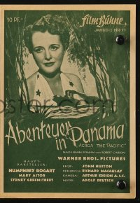 2t044 ACROSS THE PACIFIC German program 1946 Humphrey Bogart, Mary Astor, different images!