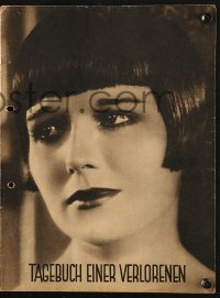 2t083 DIARY OF A LOST GIRL German program 1929 bad girl Louise Brooks, directed by G.W. Pabst!