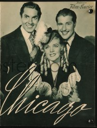 2t113 IN OLD CHICAGO German program 1938 Tyrone Power, Alice Faye & Don Ameche, different images!