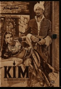 2t119 KIM German program 1952 different images of Errol Flynn, Dean Stockwell & sexy Laurette Luez!