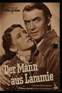 2t132 MAN FROM LARAMIE German program R1960s different images of James Stewart, Anthony Mann!