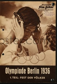 2t146 OLYMPIAD German program R1958 Part I of Leni Riefenstahl's 1936 Munich Olympics documentary!