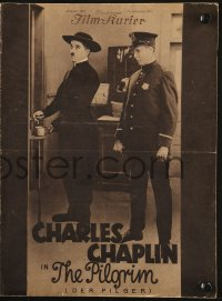 2t150 PILGRIM German program 1929 many wonderful different images of Charlie Chaplin!