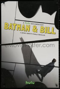 2y0324 BATMAN & BILL tv poster 2017 Todd McFarlane, Bob Kane, superhero documentary!
