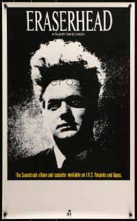 2y0314 ERASERHEAD 17x28 music poster 1982 David Lynch, Jack Nance, surreal fantasy horror!