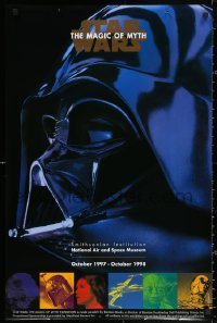 2y0301 STAR WARS: THE MAGIC OF MYTH group of 2 23x35 museum/art exhibitions 1997 at the Smithsonian!