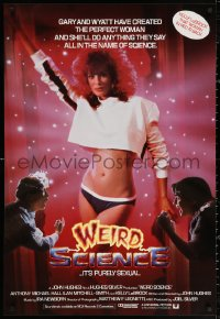 2y1026 WEIRD SCIENCE int'l 1sh 1985 completely different and far sexier image of Kelly LeBrock!