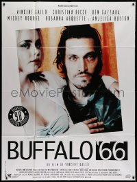 2z0804 BUFFALO '66 French 1p 1998 c/u of sexy Christina Ricci & star/director Vincent Gallo!