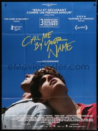 2z0808 CALL ME BY YOUR NAME French 1p 2018 Hammer, Chalamet, gay homosexual romantic melodrama!
