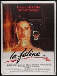 2z0817 CAT PEOPLE French 1p 1982 sexy Nastassja Kinski becomes something less than human!