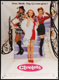 2z0827 CLUELESS French 1p 1996 sexy Alicia Silverstone, directed by Amy Heckerling!