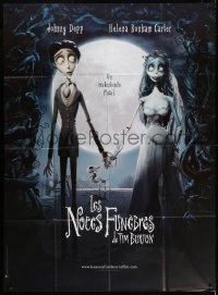 2z0833 CORPSE BRIDE French 1p 2005 Tim Burton stop-motion animated horror musical, great image!