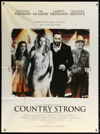 2z0835 COUNTRY STRONG French 1p 2011 Gwyneth Paltrow, Tim McGraw, Garrett Hedlund, country music!