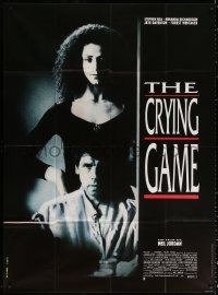 2z0838 CRYING GAME French 1p 1992 Neil Jordan classic, different image of Jaye Davidson & Rea!