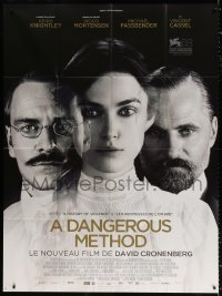 2z0841 DANGEROUS METHOD French 1p 2011 Keira Knightley, Viggo Mortensen, Fassbender, Cronenberg