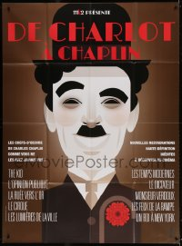 2z0846 DE CHARLOT A CHAPLIN French 1p 2010s wonderful Stanley Chow art of the famous comedian!