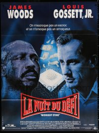 2z0860 DIGGSTOWN French 1p 1992 James Woods, Louis Gossett Jr, cool boxing art, Midnight Sting!