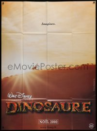 2z0861 DINOSAUR advance French 1p 2000 Walt Disney CG cartoon, different image of traveling pack!