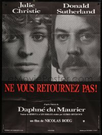 2z0863 DON'T LOOK NOW French 1p 1974 Julie Christie, Donald Sutherland, directed by Nicolas Roeg!