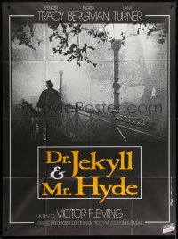 2z0867 DR. JEKYLL & MR. HYDE French 1p R2000s cool different image of shadowy figure on bridge!