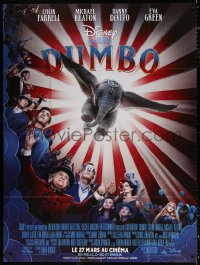 2z0871 DUMBO advance French 1p 2019 Tim Burton Disney live action adaptation of the classic movie!
