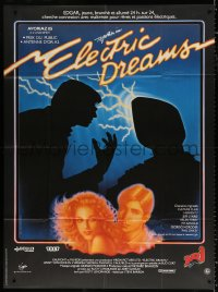 2z0875 ELECTRIC DREAMS French 1p 1985 Virginia Madsen, Lenny von Dohlen, different Malinowski art!