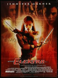 2z0876 ELEKTRA French 1p 2005 Marvel Comics, great image of hero Jennifer Garner + cast montage!