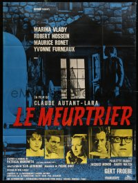 2z0880 ENOUGH ROPE French 1p 1963 Claude Autant-Lara's Le meurtrier, Marina Vlady, Robert Hossein!