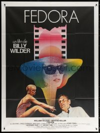 2z0890 FEDORA French 1p 1978 William Holden, Marthe Keller, directed by Billy Wilder!