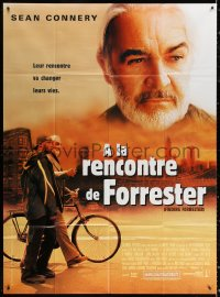 2z0894 FINDING FORRESTER French 1p 2001 Sean Connery, Rob Brown, directed by Gus Van Sant!