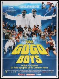 2z0917 GO-GO BOYS: THE INSIDE STORY OF CANNON FILMS French 1p 2014 Hilla Medalia Israeli documentary!