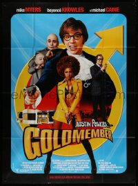 2z0922 GOLDMEMBER French 1p 2002 Mike Myers as Austin Powers, Michael Caine, Beyonce Knowles