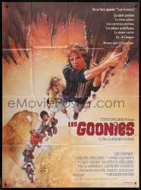 2z0925 GOONIES CinePoster REPRO French 1p 1985 Josh Brolin, teen classic, wonderful Drew Struzan art!