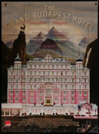 2z0927 GRAND BUDAPEST HOTEL French 1p 2014 directed by Wes Anderson, great artwork!