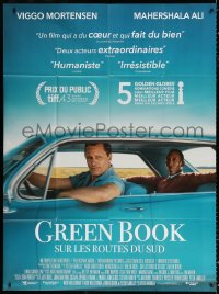 2z0934 GREEN BOOK French 1p 2019 Viggo Mortensen, Mahershala Ali, inspired by a true friendship!