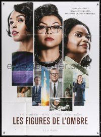 2z0949 HIDDEN FIGURES advance French 1p 2017 Taraji P. Henson, Spencer, Monae, Costner, Dunst!