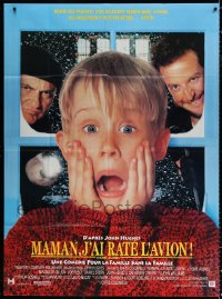 2z0954 HOME ALONE French 1p 1990 classic Macaulay Culkin, Daniel Stern, Joe Pesci!